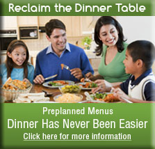 Preplanned Dinner Menus